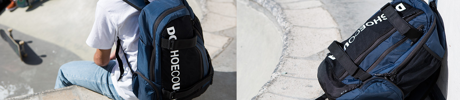 Mens Accessories: Luggage & Travel Bags by DC Shoes